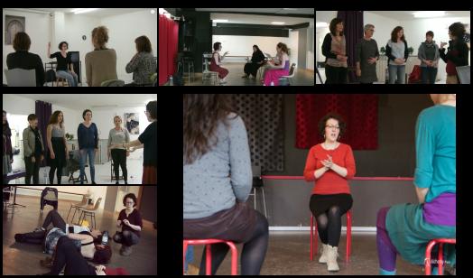 Ateliers voix à thèmes avec Marie Miault à Nantes et Bouguenais