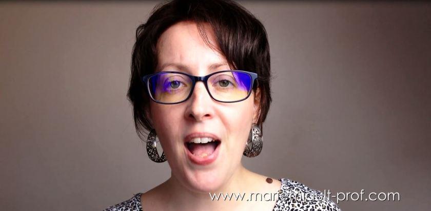 Exercice de scat - improvisation vocale en vidéo