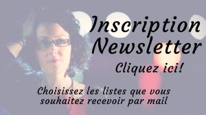 Inscription à la newsletter de Marie Miault