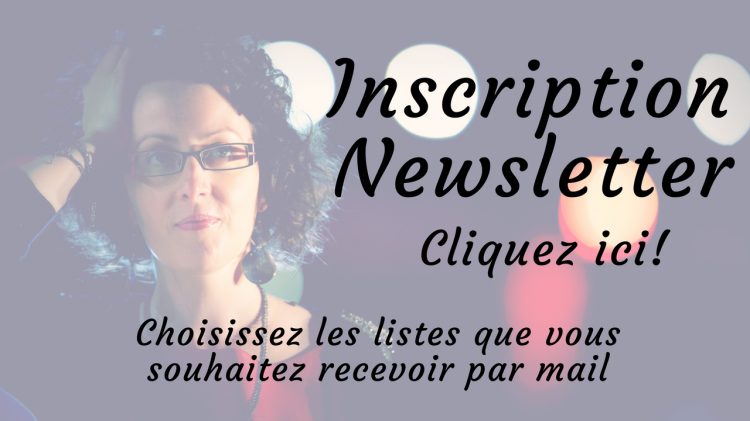 Inscription à la newsletter de Marie Miault