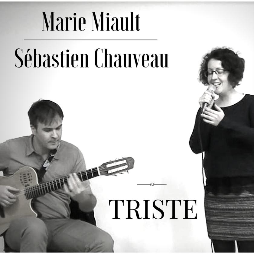 Triste (Jobim) - Marie Miault et Sébastien Chauveau