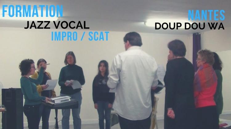 Formation jazz vocal à Nantes