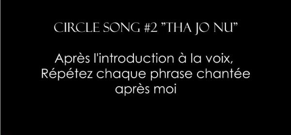 Circle Song #2 Tha Jo Nu - Konnakol - Impro vocale