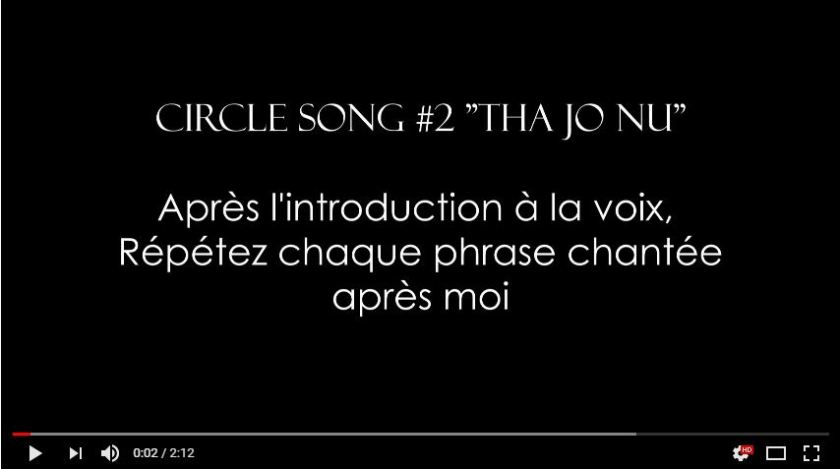 Circle Song #2 Tha Jo Nu - Konnakol - Impro vocale