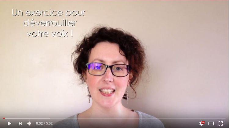 Un exercice pour déverrouiller votre voix