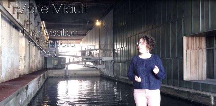 Improvisation A Cappella à la base sous-marine, St-Nazaire