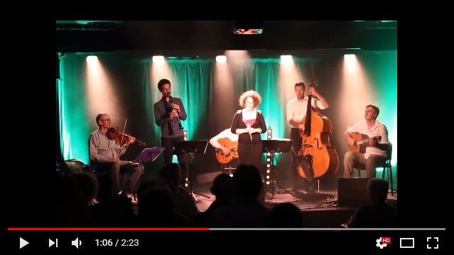 Swing Affair 5tet invite Marie Miault - After you've gone