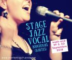 Stage Jazz Vocal, week-end 29 et 30 septembre 2018 à Bouguenais à côté de Nantes, Marie Miault
