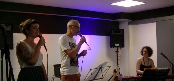 Concert fin de formation jazz vocal, organisé par Marie Miault