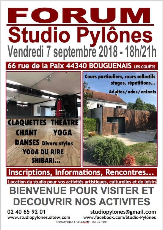 Rencontres, informations au studio pylônes pour les cours, stages de chant jazz et TCM