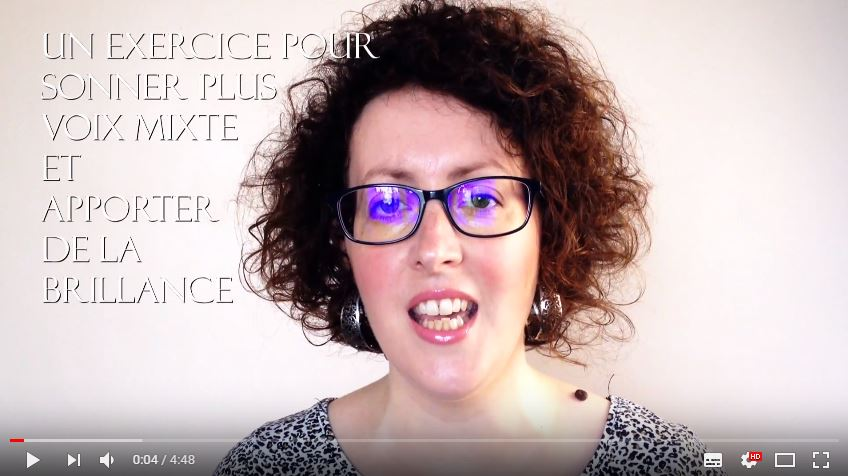 Vidéo sur un exercice pour sonner plus voix mixte !