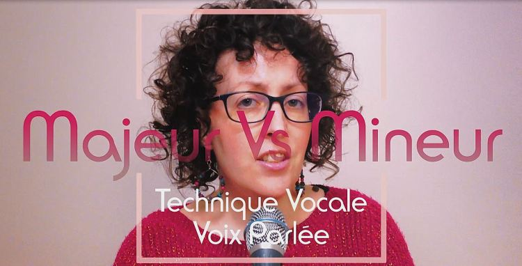Exercice technique vocale : voix poitrine vers voix mixte