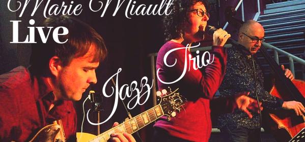 Marie Miault Jazz Trio - Live à la médiathèque de Donges