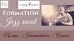 Formation jazz vocal à Nantes, niveau intermédiaire / avancé