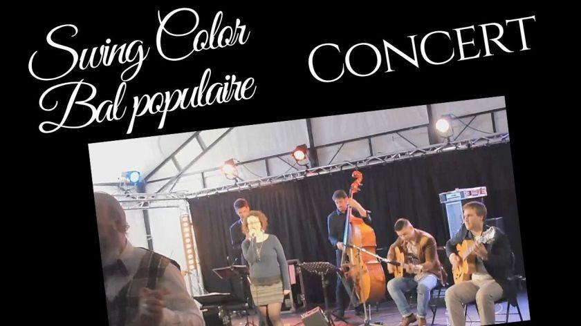 Concert le jeudi 25 juillet 2019 à Pornic avec le groupe Swing Color : bal populaire pour danser