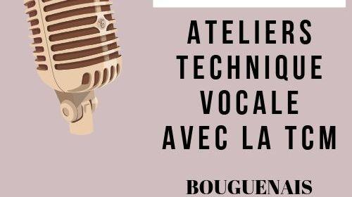 Ateliers de technique vocale avec la TCM à côté de Nantes avec Marie Miault