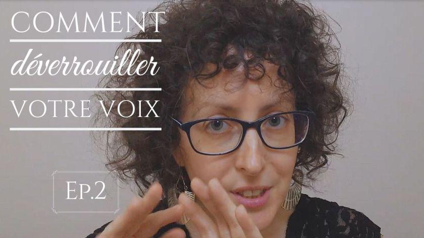Un exercice pour déverrouiller votre voix avec Marie Miault