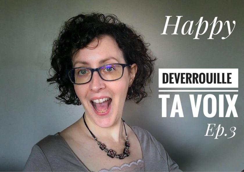 Déverrouille ta voix, exercice de technique vocale en vidéo avec Marie Miault