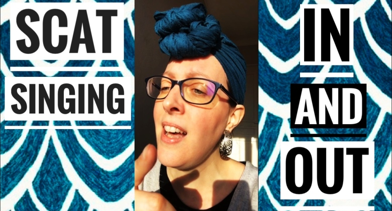 Scat singing in and out : Comment improviser à la voix dans et en dehors de l'accord ?