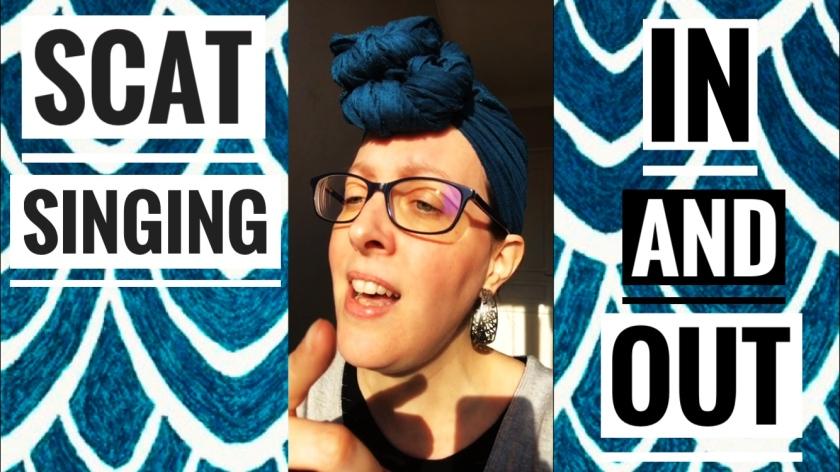 Scat singing in and out : Comment improviser à la voix dans et en dehors de l'accord ?